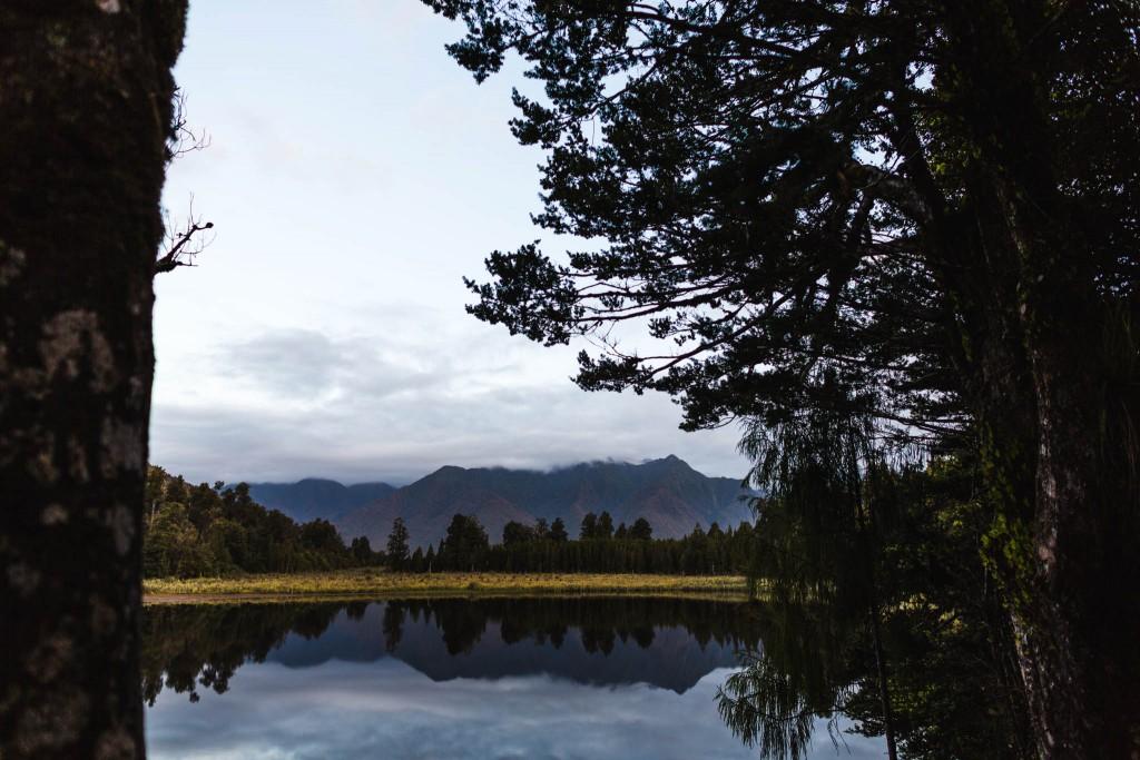 Reflexion Mount Cook-New Zealand-Sarah Galvan Photographe